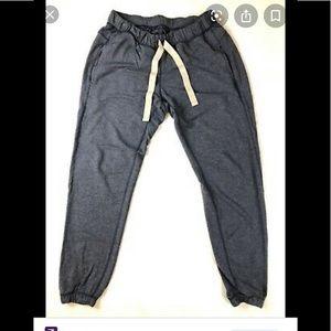 NWOT 🍋lululemon cotton joggers grey size 4